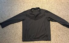Men's Nike Golf Xl Gray 1/2 Zip Jacket. Euc! M23