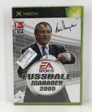 Xbox - Fußball Manager 2005 (Microsoft Xbox, 2004, DVD-Box)