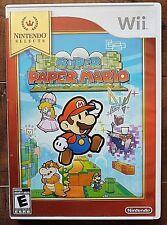 Super Paper Mario (Nintendo Wii, 2007) Wii U COMPATIBLE