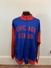 Reebok Hardwood Classics Chicago Stags (Chicago Bulls) Jacket (Size 3XL)
