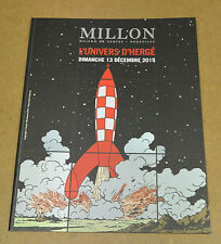 HERGÉ - TINTIN - CATALOGUE DE VENTE - MILLION - 2015 ( COMME NEUF )