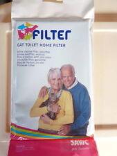 3 confezioni di Filtri Carbone Savic per adattarsi Gatto Toilette
