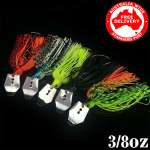 5x Premium Blade Spinnerbaits Spinner Bait Fishing Lures BASS COD TROUT REDFIN