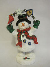 San Francisco Music Box Bobble Frosty the Snowman Musical Figurine
