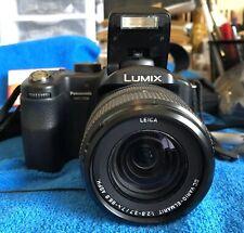 Panasonic Lumix DMC-FZ30 8MP 2'' SCREEN 12X DIGITAL CAMERA BLACK~~MINT~~