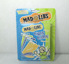 Mad Libs Card Game World's Greatest Word Game Sealed Age 8 +