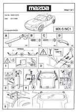Original Mazda®  MX5 NC Hardtop Wandhalter. NEU!