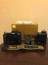 Used Nikon D500 20.9MP Digital SLR Camera - Black (Body Only) #712