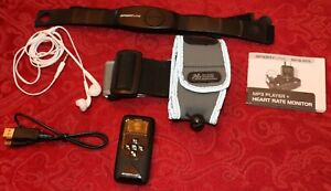 Combination heart rate monitor and MP3 player - Sportline 1075 Unisex M.E.T.A