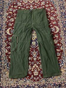 Vintage Polo Packable Flight Pants 38 30 Green Ripstop Jeans Co Ralph Lauren RRL