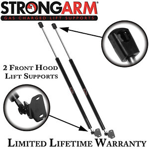 Qty 2 Strong Arm 4306 Front Hood Lift Supports