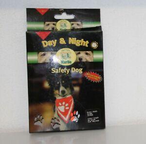Halstuch für Hunde Sicherheits-Halstuch 30 - 47 cm Karlie orange Warn-Halstuch