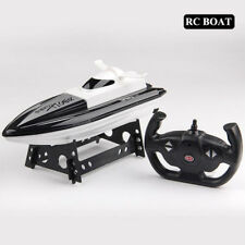 High Speed 10km/h Racing Remote Control Boat with Display Toys for Kids gift