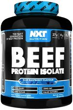 NXT Nutrition Beef Protein Isolate 1.8kg & New 600g ALL FLAVOURS+free shaker