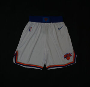 HOT New York Knicks White Basketball Shorts Size: S-XXL