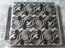 The Rolling Stones Steel Wheels 2009 Polydor Super Jewel Case Remaster CD NM
