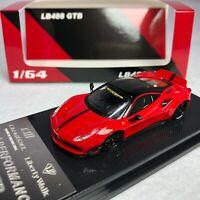 1/64 CM Model Ferrari 488 GTB LB Works Red Diecast