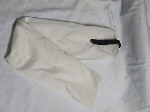 Ecotak showerproof nylon rugless tail bag - white Ecotak