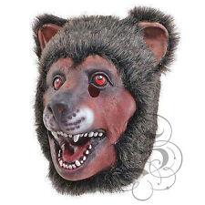 látex Animal Cabeza Completa oso con Piel Fiesta De Disfraces Props