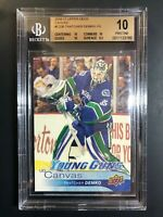 2016-17 Upper Deck Thatcher Demko Young Guns Canvas Rookie BGS 10