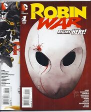 Robin War #1-2 Grayson #15 Detective #47 We Are Robin #7 Robin Son Of Batman #7