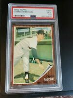 1962 Topps # 230 Camilo Pascual Twins NM Near Mint PSA Encapsulated 5.5