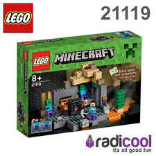 21119 LEGO The Dungeon MINECRAFT Age 8+ / 219 Pieces / NEW 2015 RELEASE!