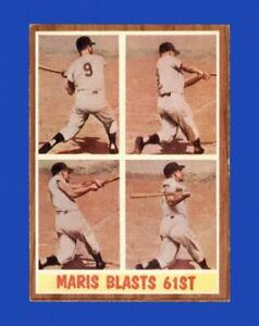 1962 Topps Set Break #313 Roger Maris IA EX-EXMINT *GMCARDS*