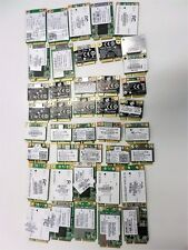 Lot of 40 Various HP Wifi Cards for Laptops Wireless Network Wi-Fi Adapters