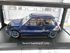 RENAULT 5 GT Turbo Supercinq 1989 Alain Oreille blau blau 185205  Norev 1:18