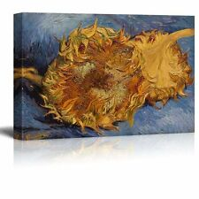 The Sunflowers by Vincent Van Gogh - Oil Painting Reproduction on Canvas - 24x36