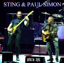 PAUL SIMON STING LIVE BERLIN 2015 2 CD