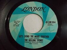The Rolling Stones Let's Spend The Night Together / Ruby Tuesday 45 Vinyl Record