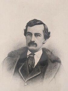 ESTATE FIND~ Vintage Print - Portrait of John Wilkes Booth