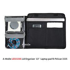 Lid organizer Laptop for Pelican peli1535 1514 1519 IM2500 no case) with Velcro