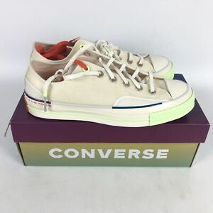 Converse Chuck 70 Ox Pigalle Sneaker Mens Size 8 White 165748C