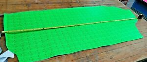 Bright GREEN Cyber DOG Butt Split Leather Panel 1.9mm Thickness LOT 2195