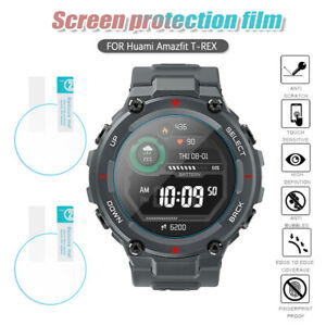 Protector Flexible Glass 9H HD Protective Films For Xiaomi Huami Amazfit T-Rex