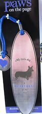 New Set of 3 ~ Dog Lover Metal Bookmarks ~ Welsh Corgi ~ Paws on the Page