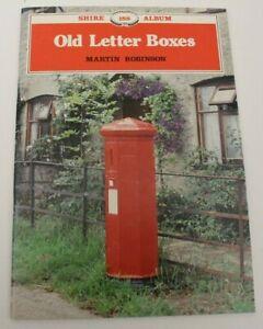 Vintage Book, Old Letter Boxes, Martin Robinson, Shire Album, 188, Excellent