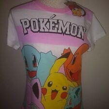 Ladies pokemon Night shirt Size MEDIUM 10-12 New Tags 100% cotton FREE POSTAGE.