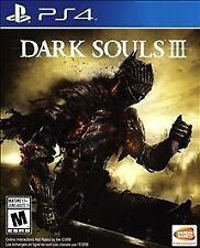 Dark Souls III 3 - PS4 - DISC ONLY in protective sleeve