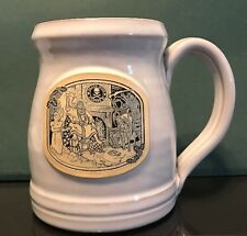 Death Wish Coffee Mug Deneen Pottery SOLD OUT!  In Hand Christmas 2686 of 4000
