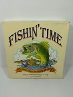 Vintage 1986 Fishin' Time Great American Fishing Challenge Board Game 1Card Gone