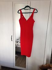 Miss Selfridge red sexy bodycon dress 12 Never Worn