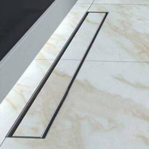 50 cm Floor Drain Linear Wet Room Bathroom Kitchen Shower Waste Trap Plumbing UK