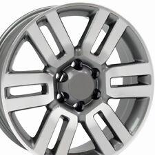 20x7 Wheel Fits Toyota 4Runner Style Gunmetal Machd Tacoma Tundra Rim W1X
