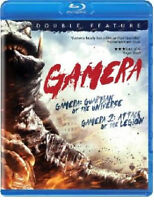Gamera 1 & 2 Blu-Ray SET: Guardian  + Attack of Legion! NEW, SEALED! USA RELEASE