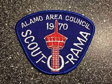 Alamo Area Council Scout-O-Rama 1970 Boy Scout Patch