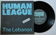 Human League The Lebanon UK 1984 7in Synth Wave